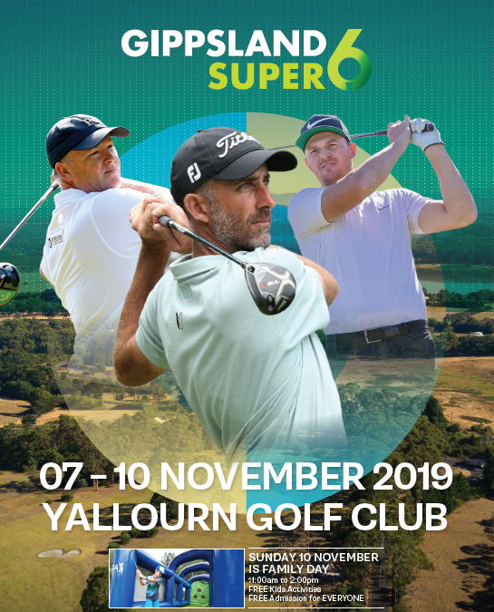 Major PGA Super 6 Tour of Australasia comes to Gippsland's Yallourn Golf Club!