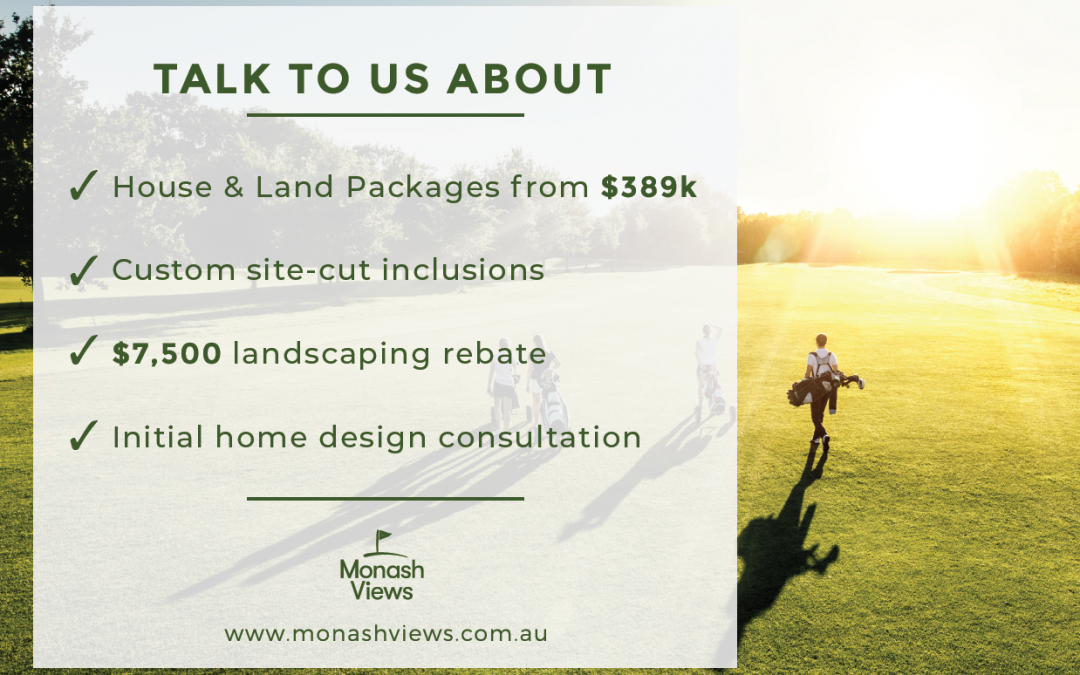 Fantastic additional rebates and inclusions make it even more affordable to make the move to Monash Views!