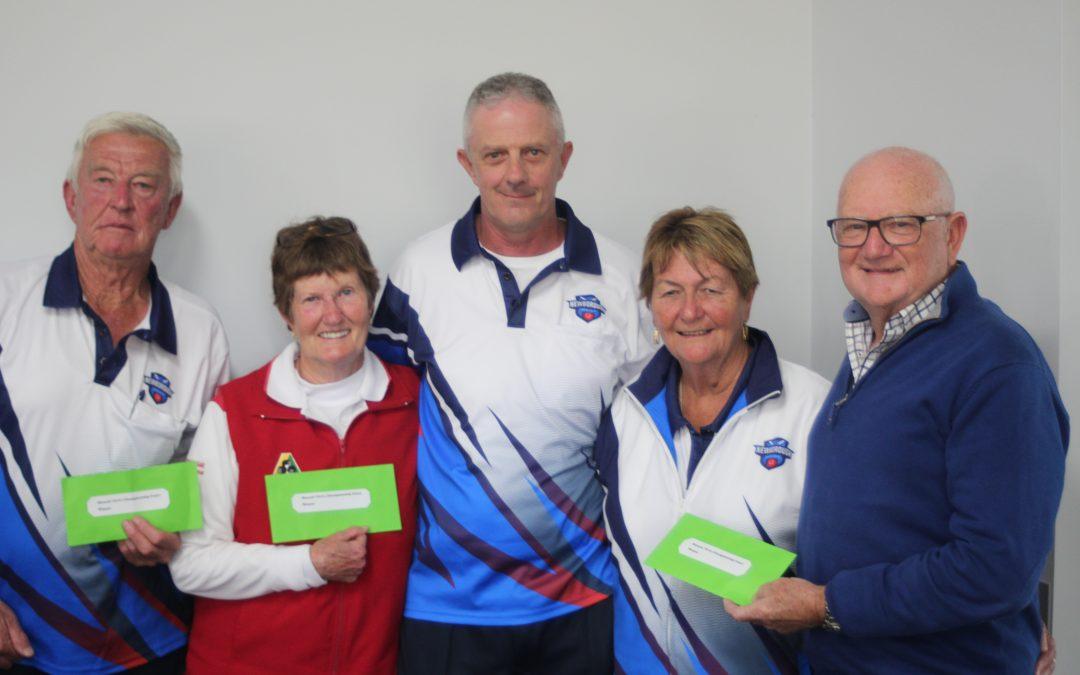 The Monash Views Mixed Fours Tournament arrives at Newborough Bowling Club!